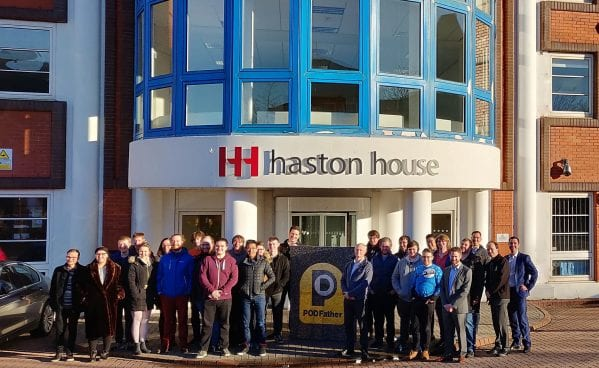 PODFather team at Haston House