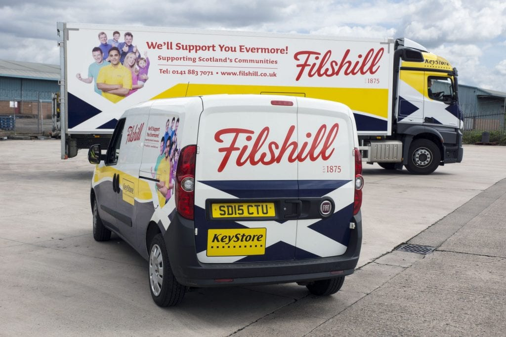 Filshill van and lorry