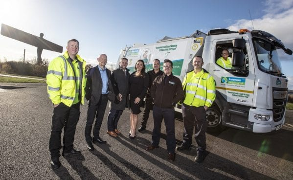 Keenan Recycling team with vehicle