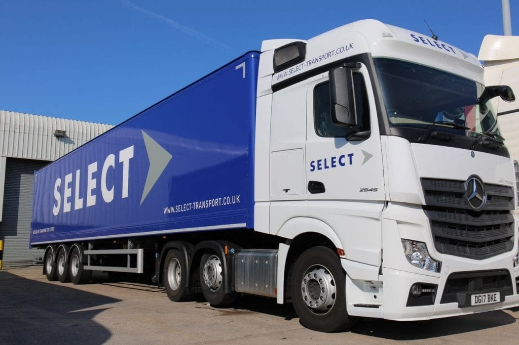 Select Transport lorry