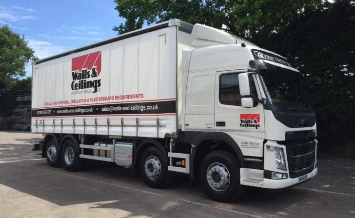 Walls & Ceilings International delivery truck planned by PODFather