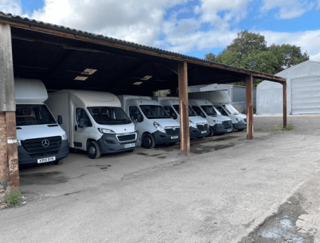 The Home Delivery Service vehicles planned by PODFather