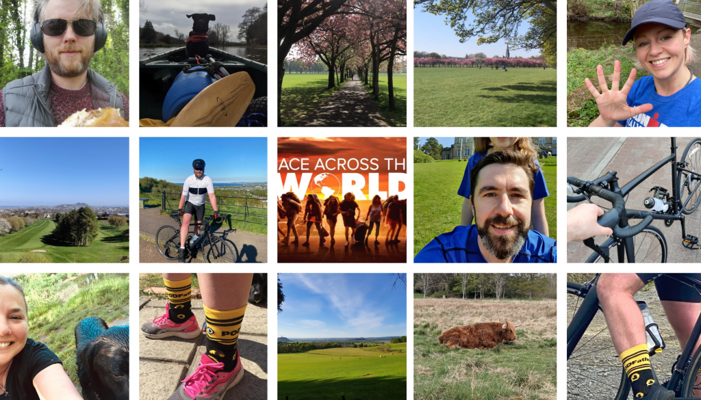 PODFather Events - Race Across the world with team members