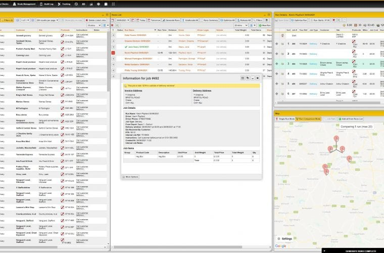 Route optimisation software from PODFather